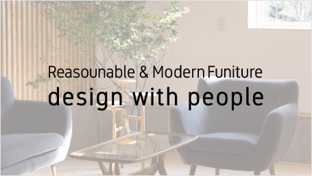 Reasounable & Modern Funiture design with people